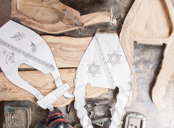 ezra marcos, mountain glen harps, handcrafted harps