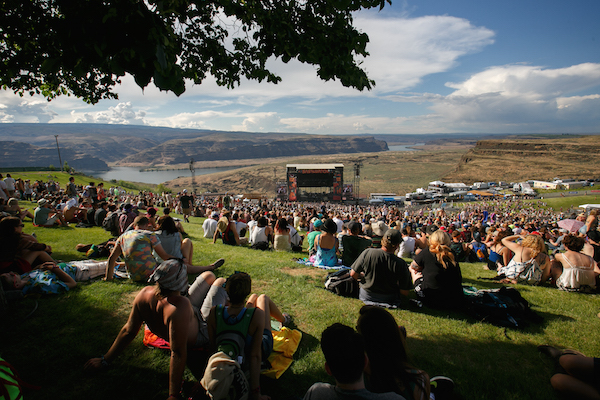 sasquatch, summer music festivals, oregon, columbia river gorge