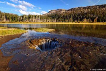 Oregon-Postcard_Lost-Lake-Drain-Hole_Sandy-Wilson_630x400