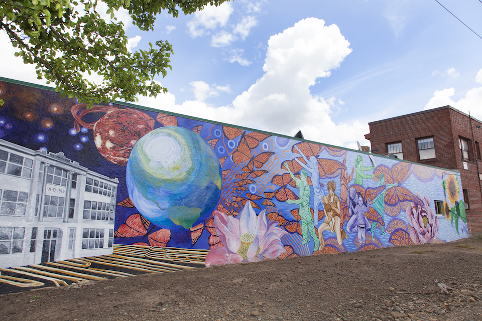 hector hernandez, portland, artist, murals, shauna intelisano