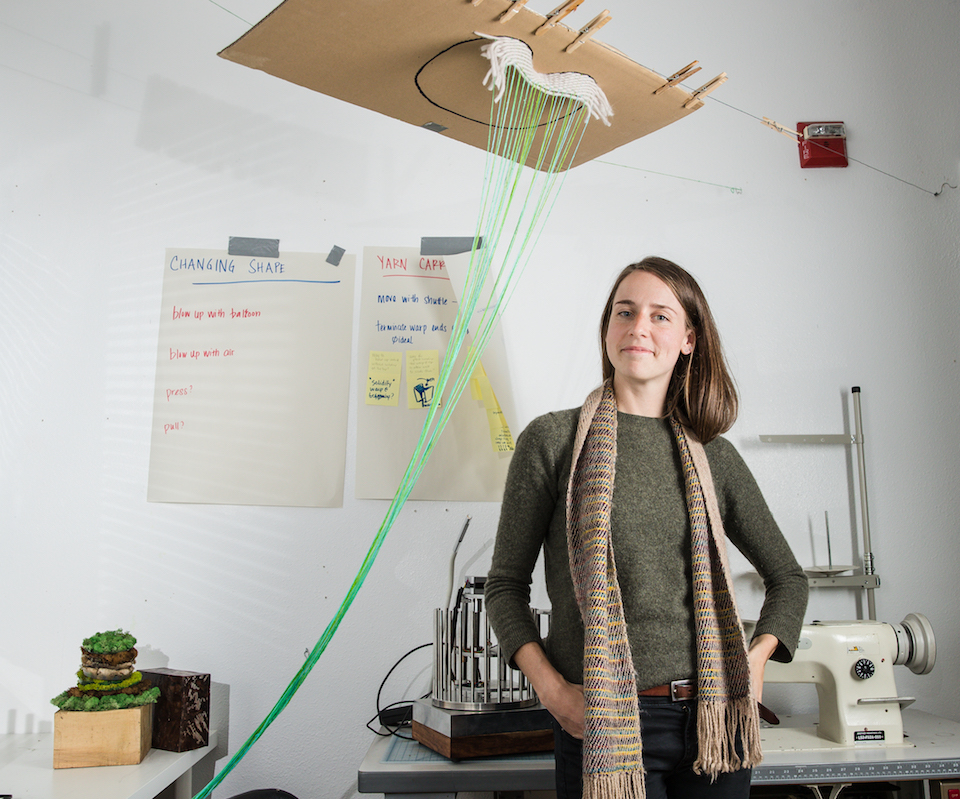 beth esponnette, university of oregon, 3d printed clothing