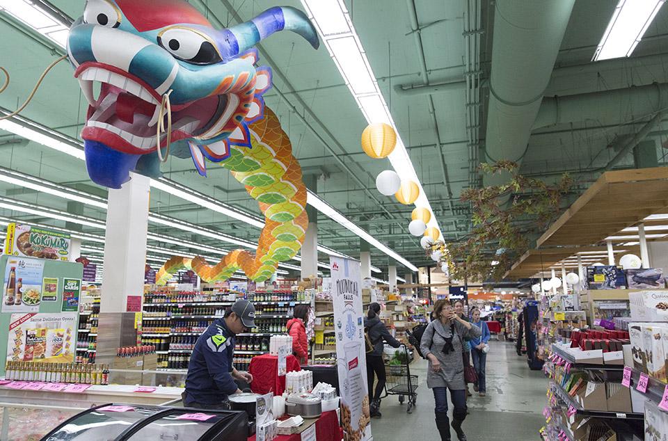 Uwajimaya supermarket