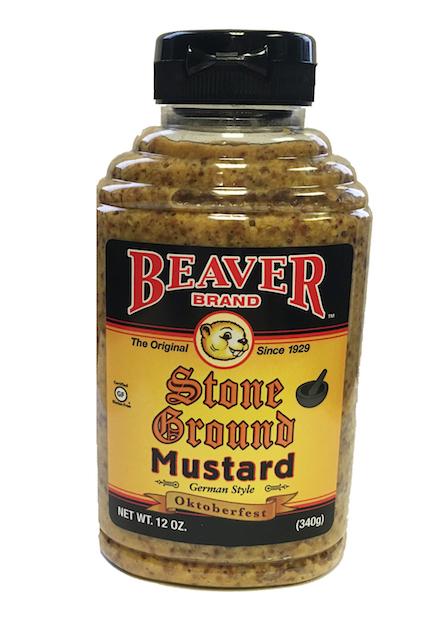 beaver stone ground mustard