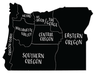 Oregon Trip Planner Map