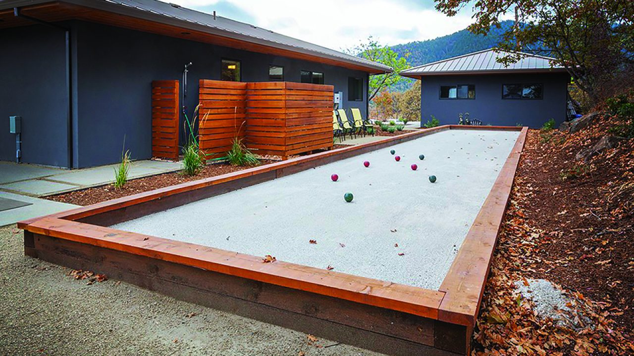 Do It Yourself Build Your Own Backyard Bocce Ball Court 1859