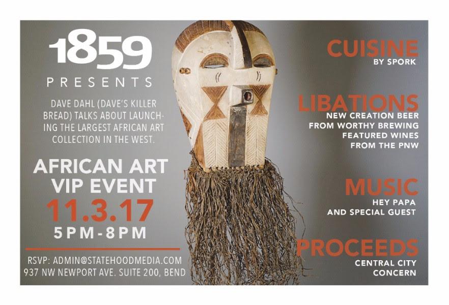 Dave Dahl's African Art Show