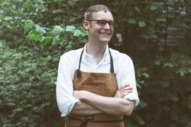 Andrew Barton, author the Mrytlewood Cookbook