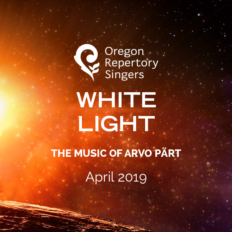 Oregon Repertory Singers presents White Light