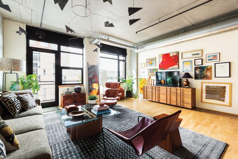 An Interior Designer Turns A Small Portland Condo Into Personal Haven