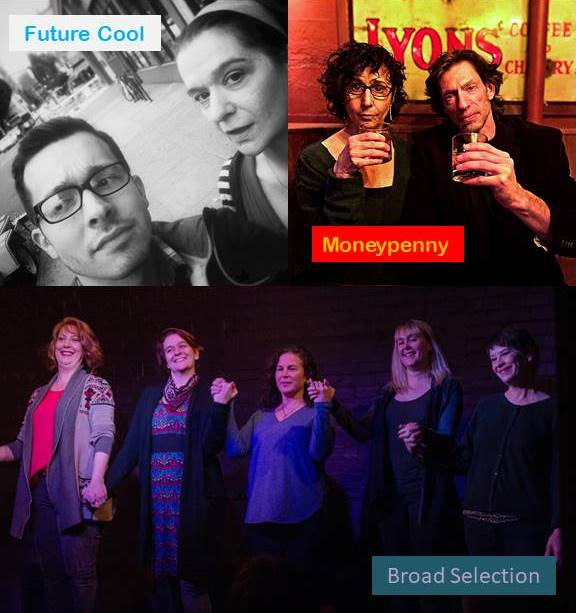 Bridge City Improv: An evening of improv comedy with Future Cool, Moneypenny, & Broad Selection