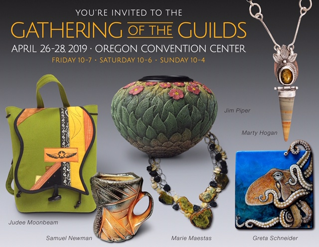 2019 Gathering of the Guilds and the Ceramic Showcase