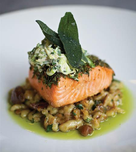 Portland Dining Month – Cider-glazed salmon
