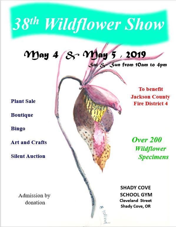 38th Shady Cove / Trail Wildflower Show