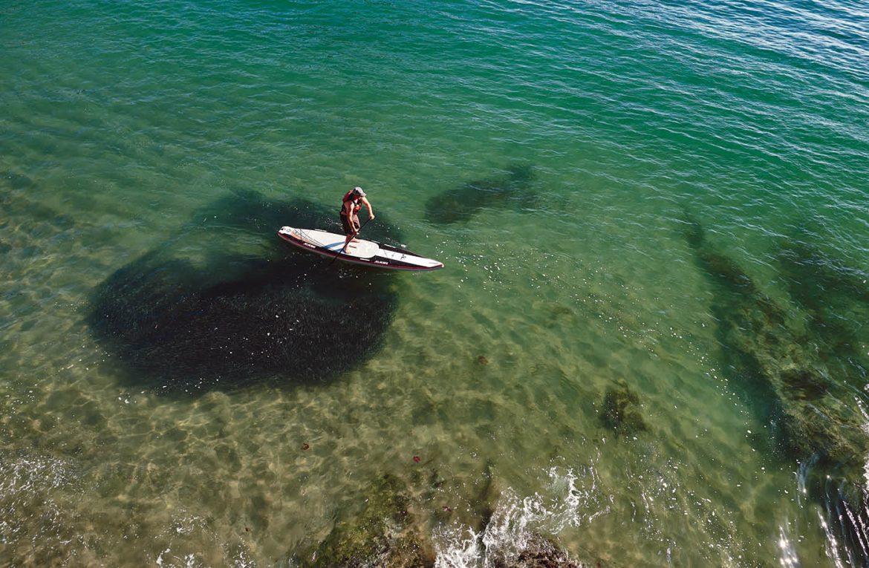 Paddleboarding in Brookings