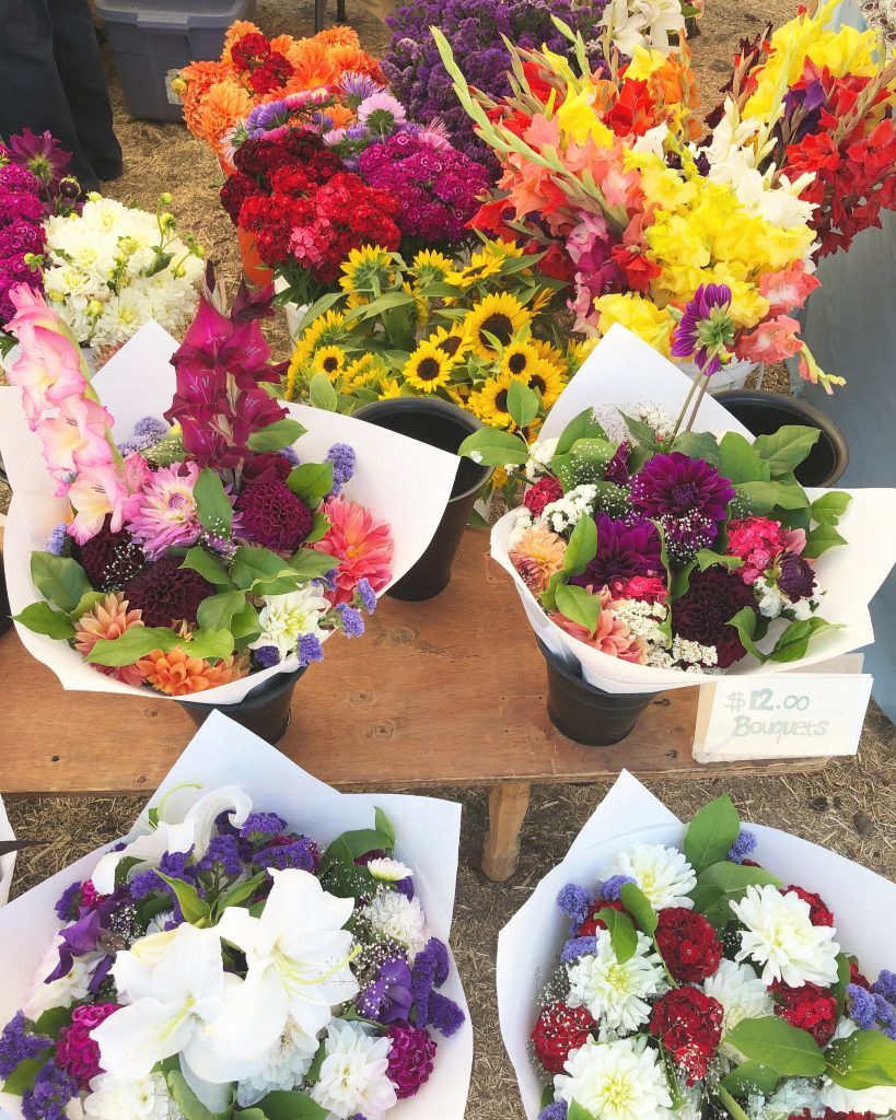 Mount Hood Farmers Market Flowers