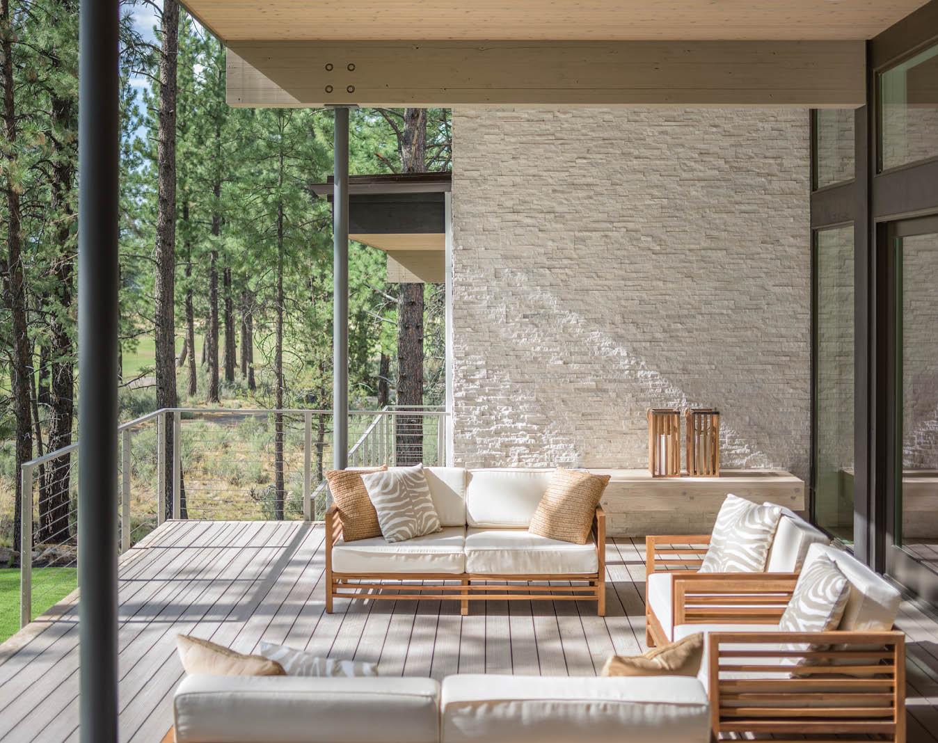 An architect and interior designer fashion a modern ...