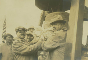 The Liberty Bell celebration in Salem in 1915.