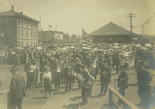 The Liberty Bell celebration in Baker City in 1915.