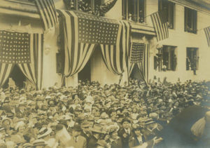 Liberty Bell in Oregon in 1915