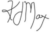 Kevin Max signature