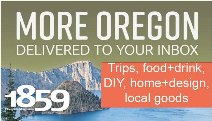 Subscribe to 1859 Oregon's Magazine