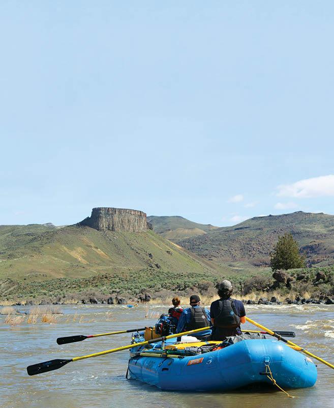 rafting the Owyhee