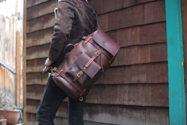 At Hand Leather Duffel Bag
