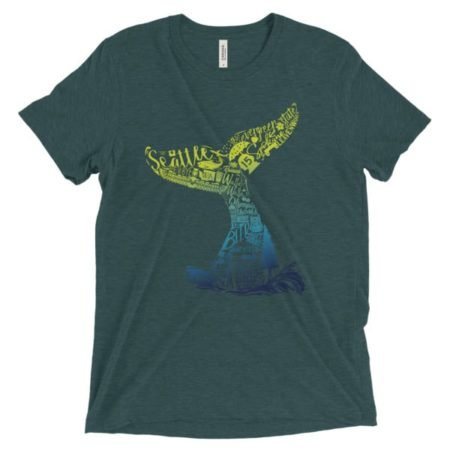 Washington Whale Short Sleeve T-shirt