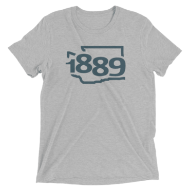 Washington Statehood 1889 Short-Sleeve T-Shirt