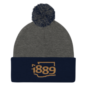 Washington Statehood 1889 Beanie
