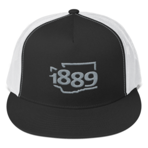 Washington Statehood 1889 Trucker Hat (gray)