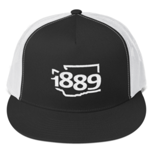 Washington Statehood 1889 Trucker Hat (white)