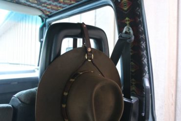 At Hand Leather Hat Lasso