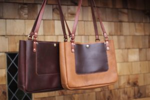 At Hand Leather Tote Bag