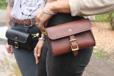 At Hand Leather Hip Bag