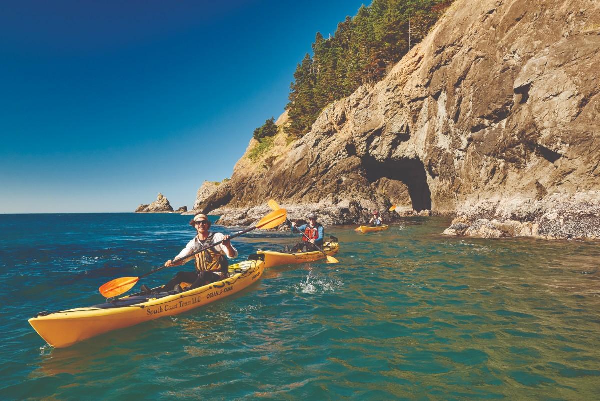 Port Orford kayaking