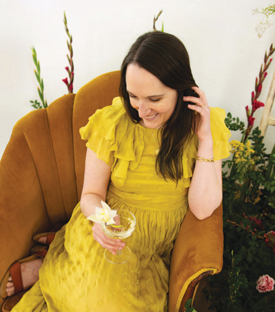 Alyson Brown lets readers drink in her love of flower folklore