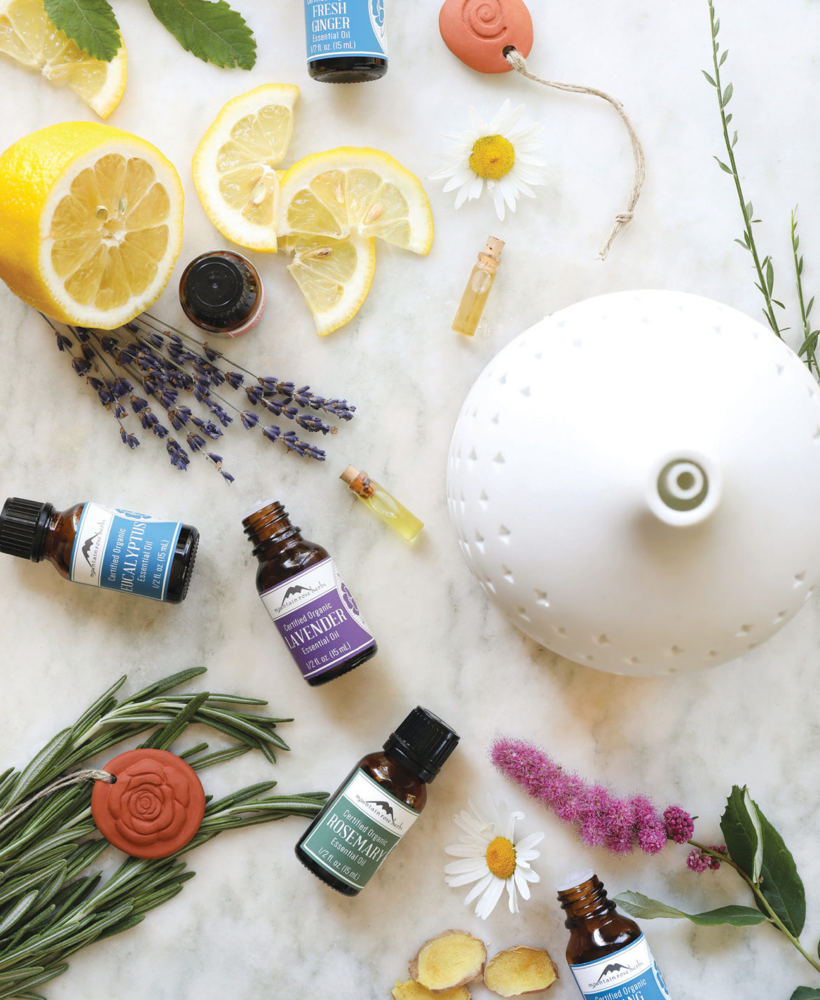 Mountain Rose Herbs offers organic essential oils for aromatherapy.
