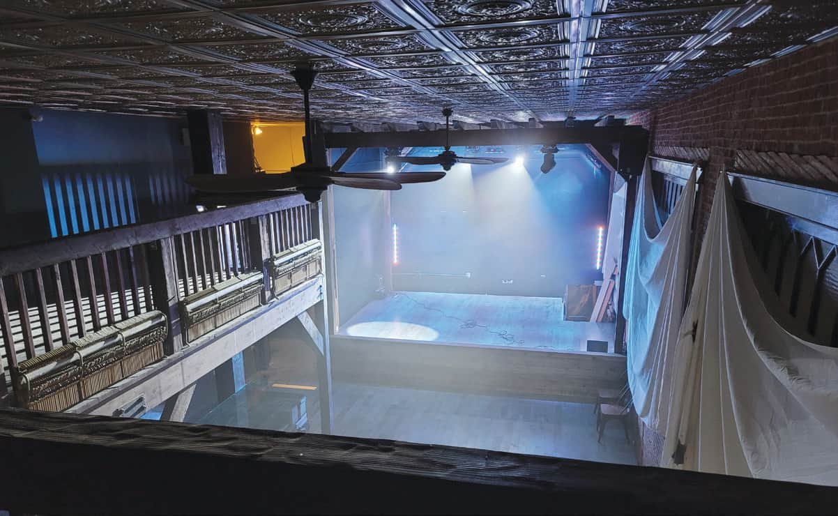 SunnySide Theatre's stage is set for would-be performers to brave it on Shadow Mic Night.