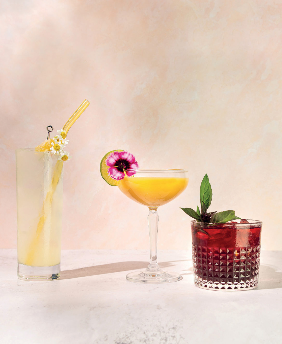 Alyson Brown cocktail creations