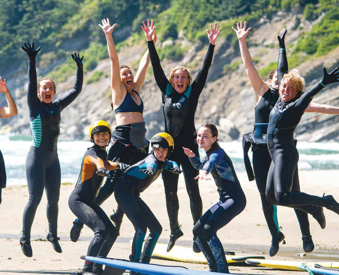 Lexie Hallahan's passion for surfing inspires women to conquer the waves of life at NW Women's Surf Camps.