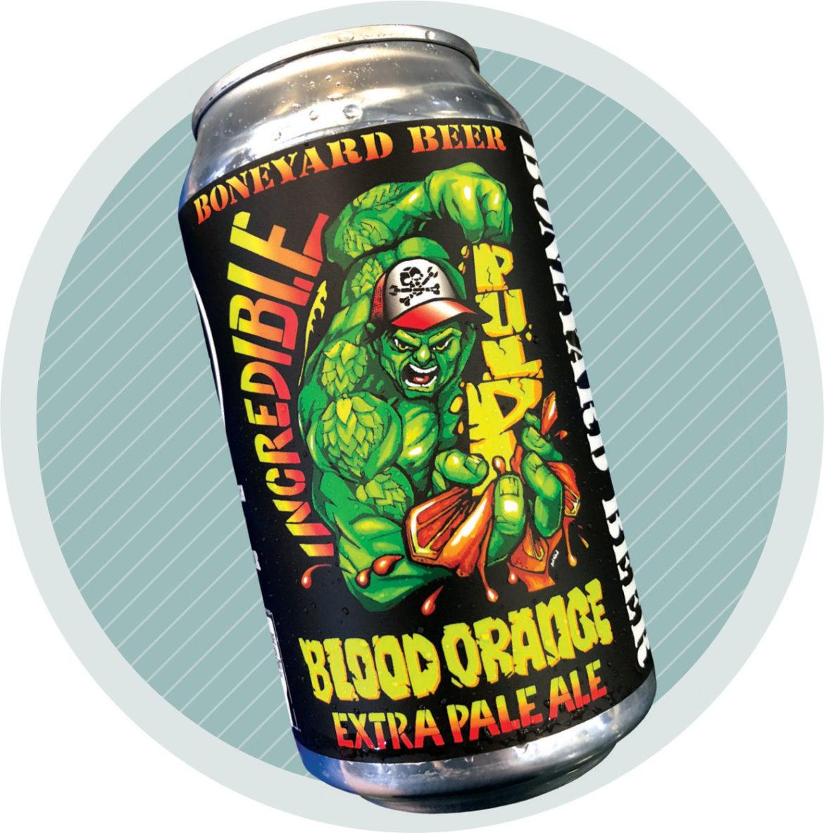 Boneyard's Blood Orange Pale Ale delivered joy during lockdown.