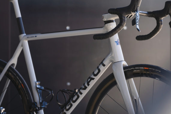 Argonaut bikes are made with sealed resin and pressurized carbon for a sleek, stable ride.