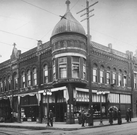 The Hill Block Building in 1910 was a safe, bustling hub for Blacks.